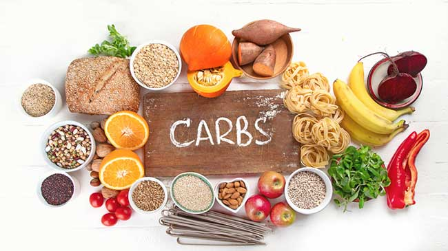 Carbs are good to eat before a triathlon